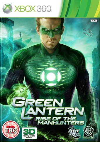 Green Lantern Rise of The Manhunters Xbox360